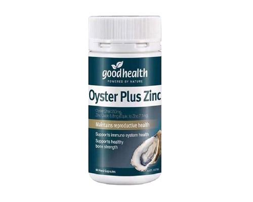 oyster plus zinc
