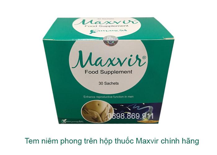 thuốc maxvir chính hãng