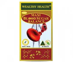 thuốc maxi blood sugar balance