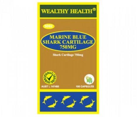 sụn cá mập marine blue shark cartilage 750mg