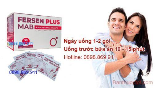 cách uống thuốc fersen plus hiệu quả