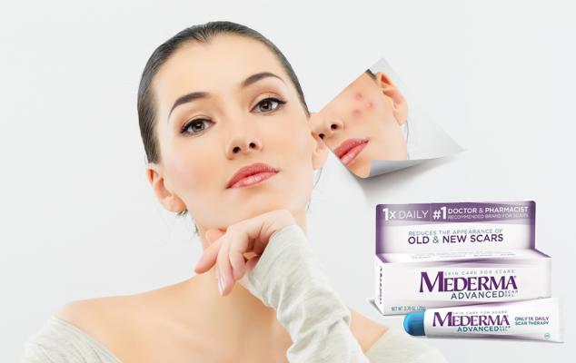 tác dụng của kem trị sẹo mederma