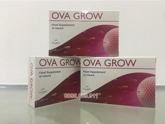thuốc ova grow hỗ trợ khả năng sinh sản nữ giới
