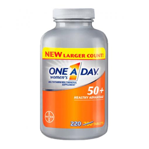 Vitamin Tổng Hợp One A Day For Women 50+, 220 viên