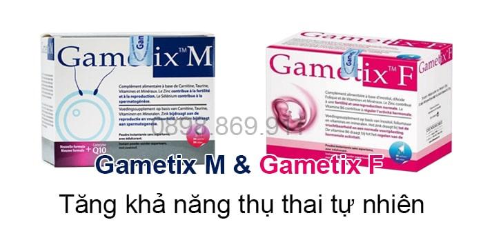 bộ đôi sản phẩm gametix