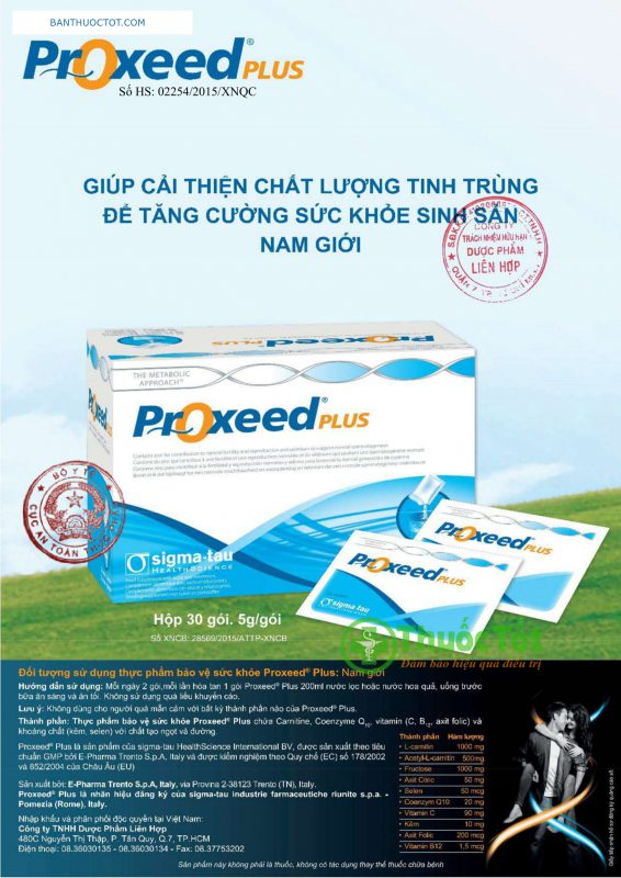 công dung thuốc proxeed plus