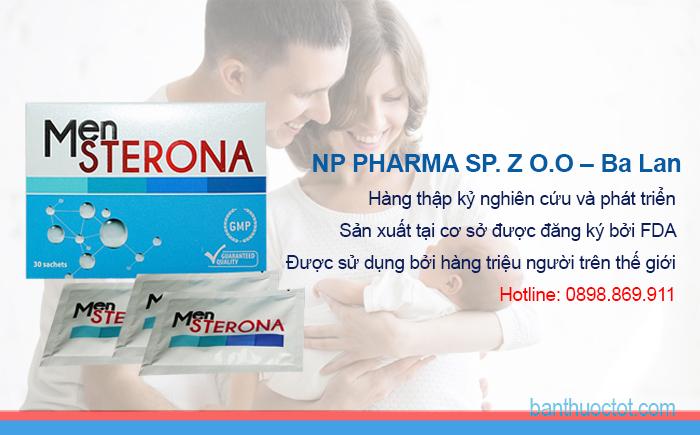 ưu điểm của thuốc mensterona