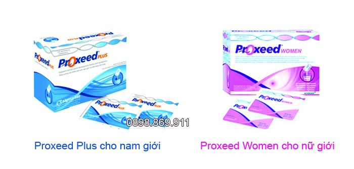 proxeed plus và proxeed women