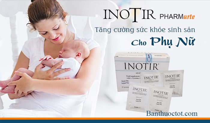 thuốc inotir cho phụ nữ buồng trứng đa nang