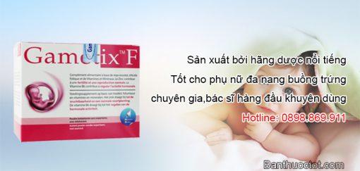 ưu điểm của thuốc gametix f