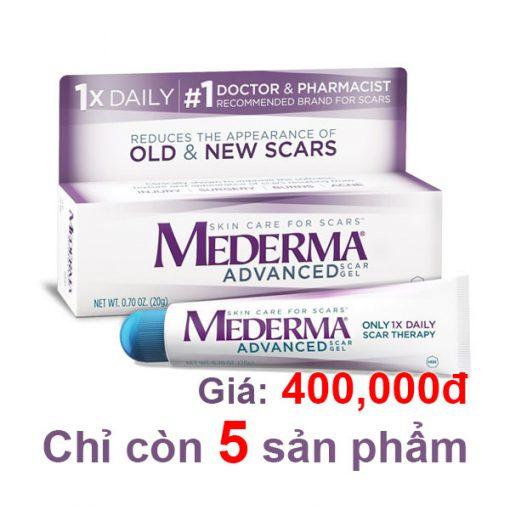 trị sẹo mederma