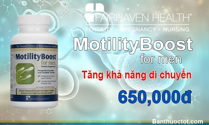 Thuốc MotilityBoost for men