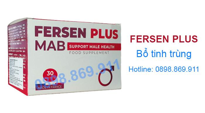 thuốc fersen plus bổ tinh trùng hiệu quả