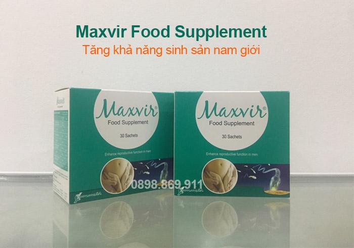thuốc maxvir cho nam giới hiếm muộn