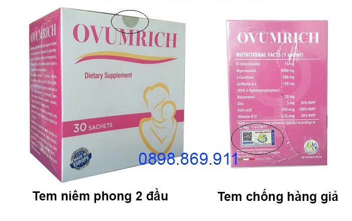 thuốc ovumrich chính hãng