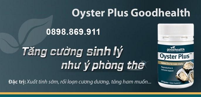 Đối tượng sử dụng oyster plus goodhealth
