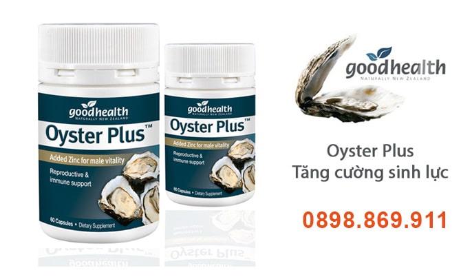Tinh chất hàu oyster plus của úc