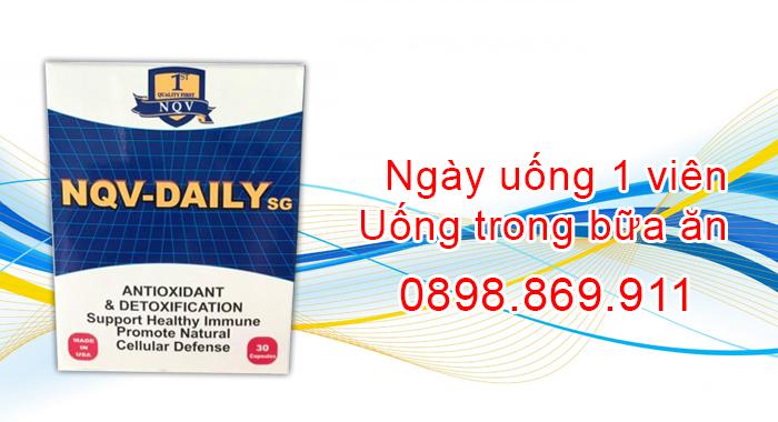 cách sử dụng hiệu quả nqv daily sg