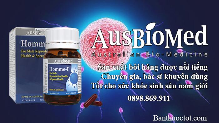 ưu điểm của thuốc homme f