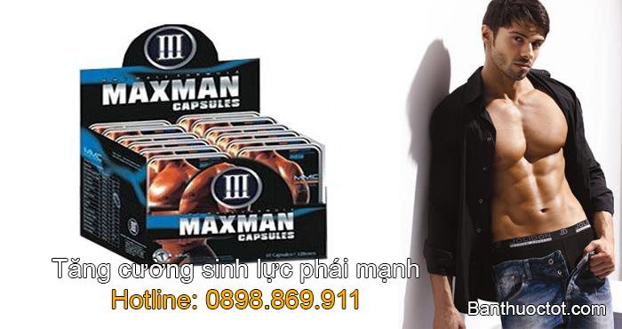 maxman tăng cường sinh lực phái mạnh