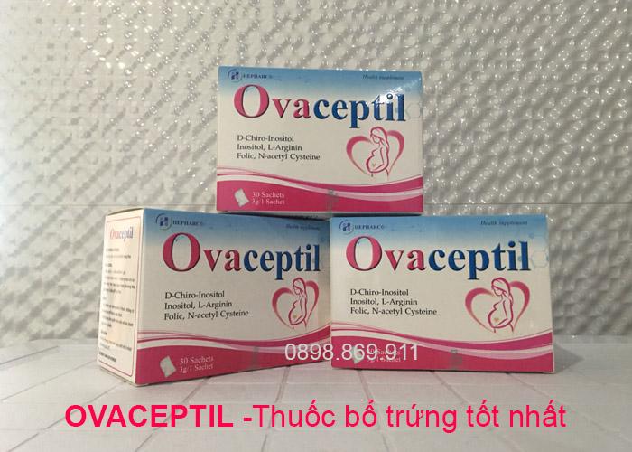 ovaceptil - thuốc bổ trứng tốt nhất