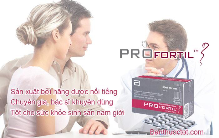 ưu điểm của thuốc profortil