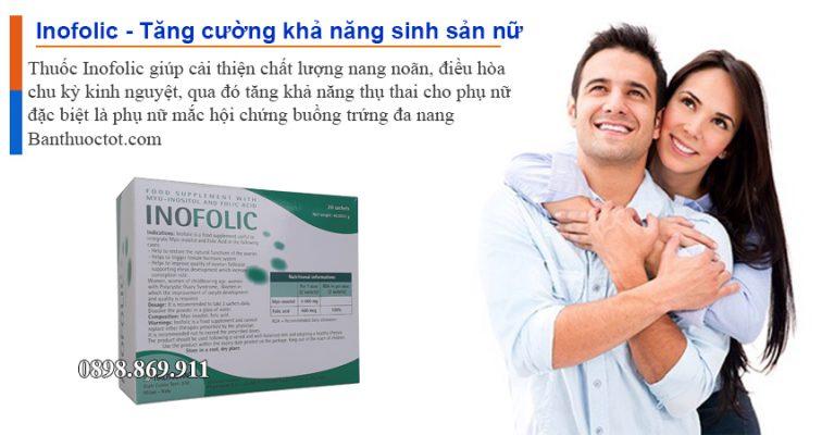tác dụng thuốc inofolic