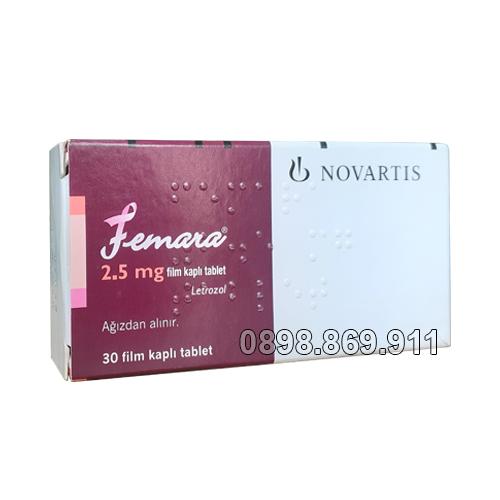 thuốc femara 2.5 mg