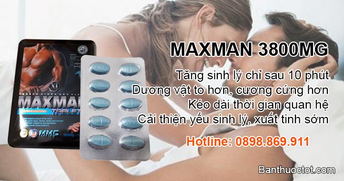 thuốc maxman 3800 mg