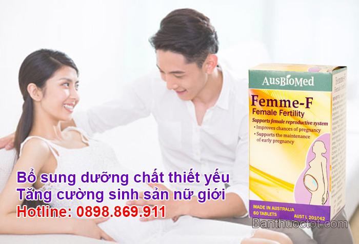 femme f tăng cường sinh sản nữ giới