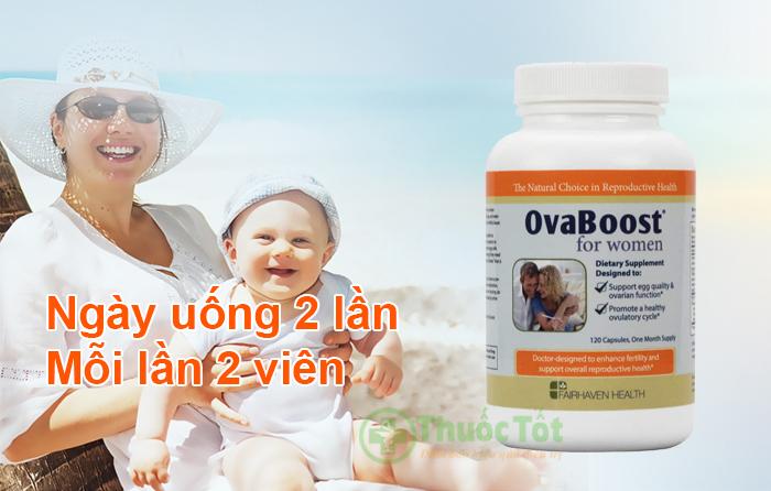 cách sử dụng ovaboost