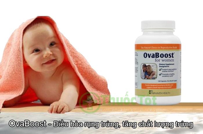 ovaboost tăng khả năng sinh sản nữ