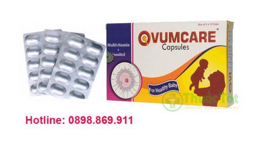 ovumcare tăng khả năng thụ thai cho phụ nữ