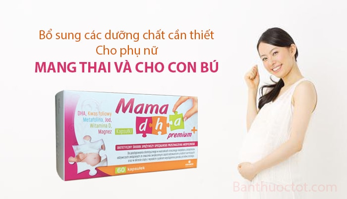 tác dụng thuốc mama dha