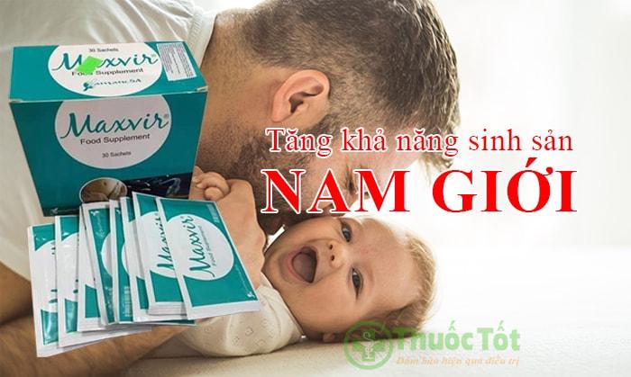 thuốc maxvir food supplement