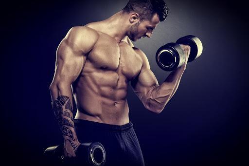 cơ bắp phát triển như mong đợi khi sử dụng thuốc groloid