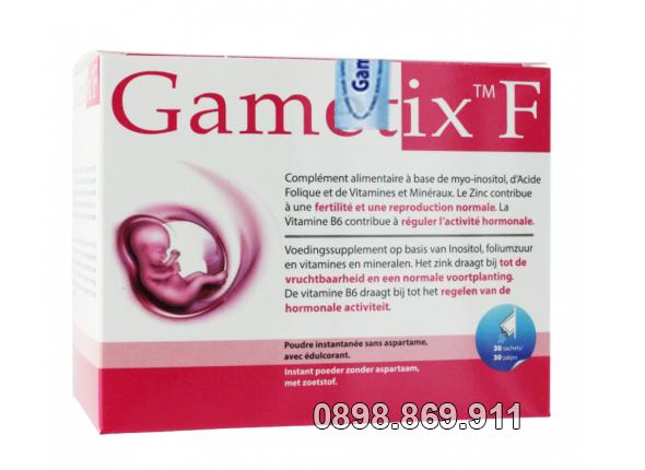gametix f tốt cho phu nữ đa nang buồng trứng