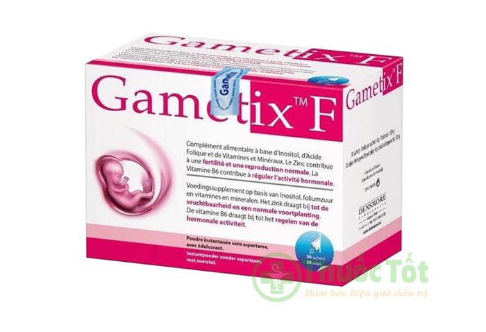 thuốc gametix f cho phu nữ pcos