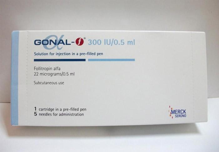 thuốc gonal f 300 iu
