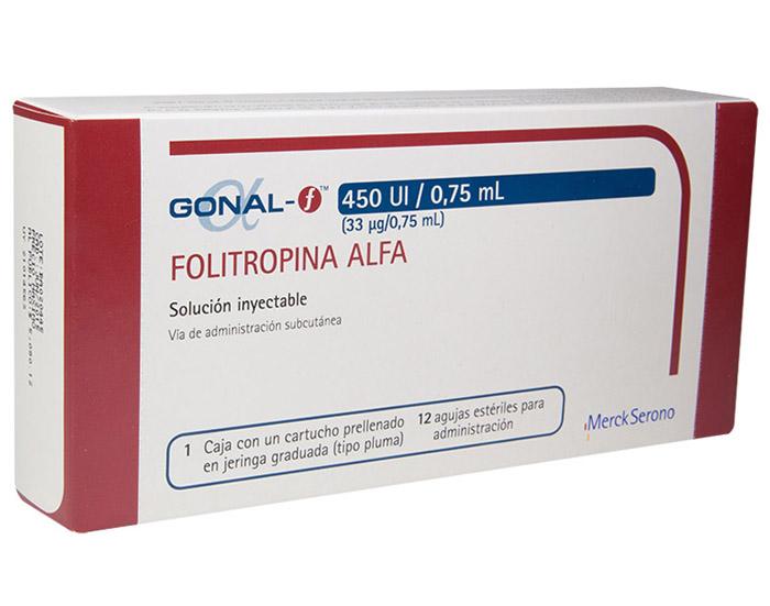 thuốc gonal f 450 iu