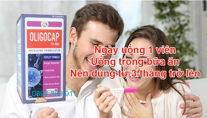 cách sử dụng oligocap hiệu quả