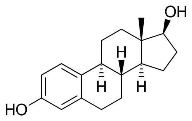 công thức cấu tạo của estradiol