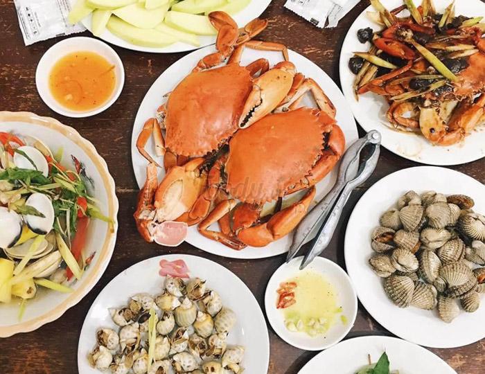 hải sản giúp tăng khả năng sinh sản nữ giới