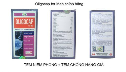 thuốc oligocap chính hãng
