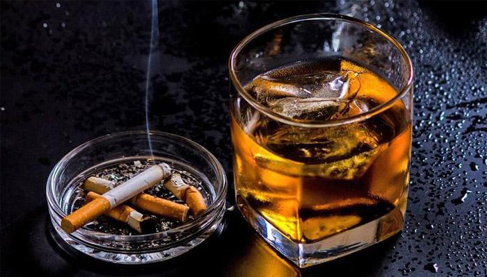 rượu bia thuốc lá ảnh hưởng tới quá trình phóng noãn