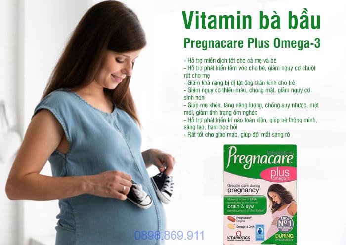 tác dụng thuốc pregnacare plus