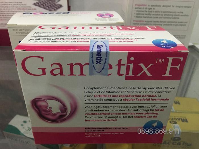 thuốc bổ trứng gametix f