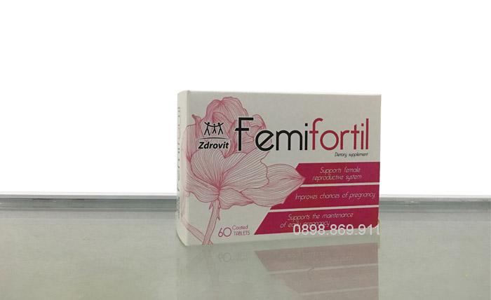 thuốc khoẻ trứng femifortil