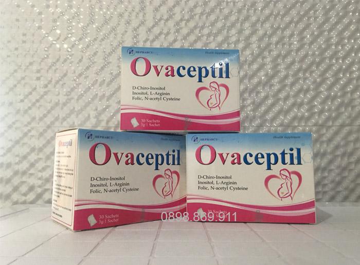 thuốc khoẻ trứng ovaceptil