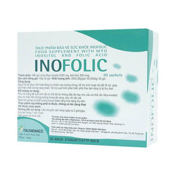 thuốc điều  kinh inofolic